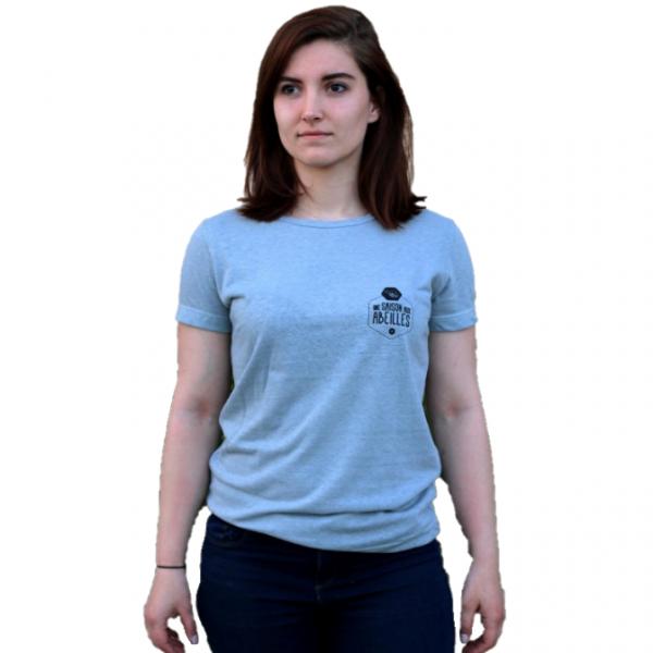T-shirt - Femme 55% chanvre 45% coton bio