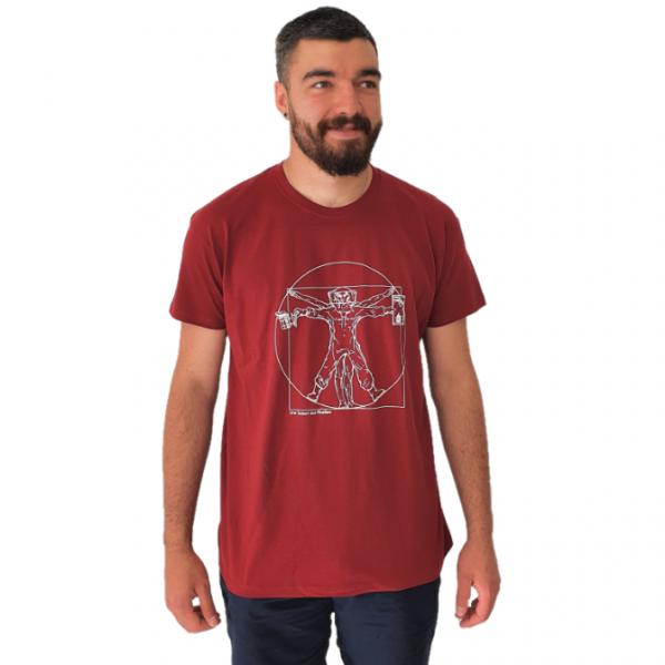 """T-shirt """"l'Homme de Vitruve"""" - Une saison aux abeilles"""