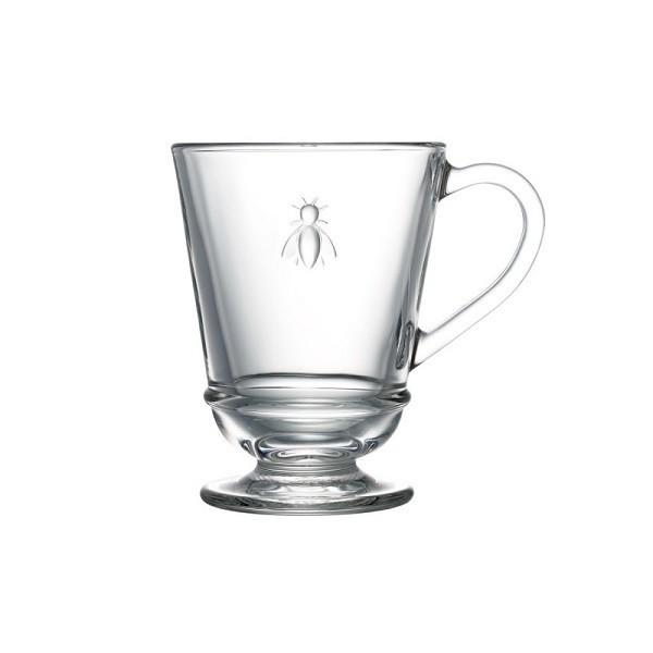 "Mug transparent ""Abeille"""